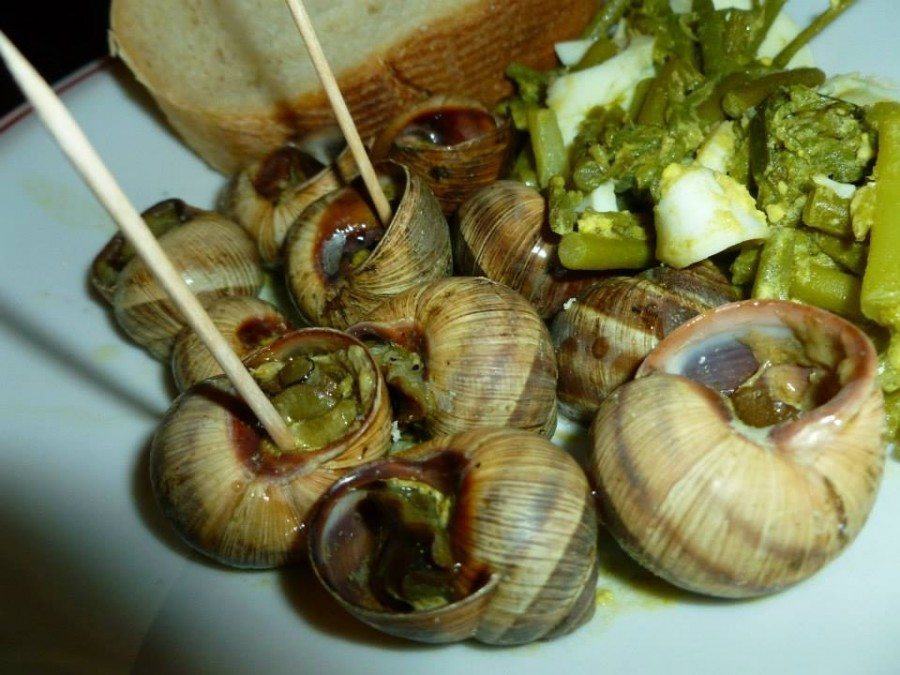 Croatian Cooking Snails_Puzevi