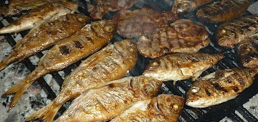 Croatian Cooking: Grilled fish {Riba sa žara}