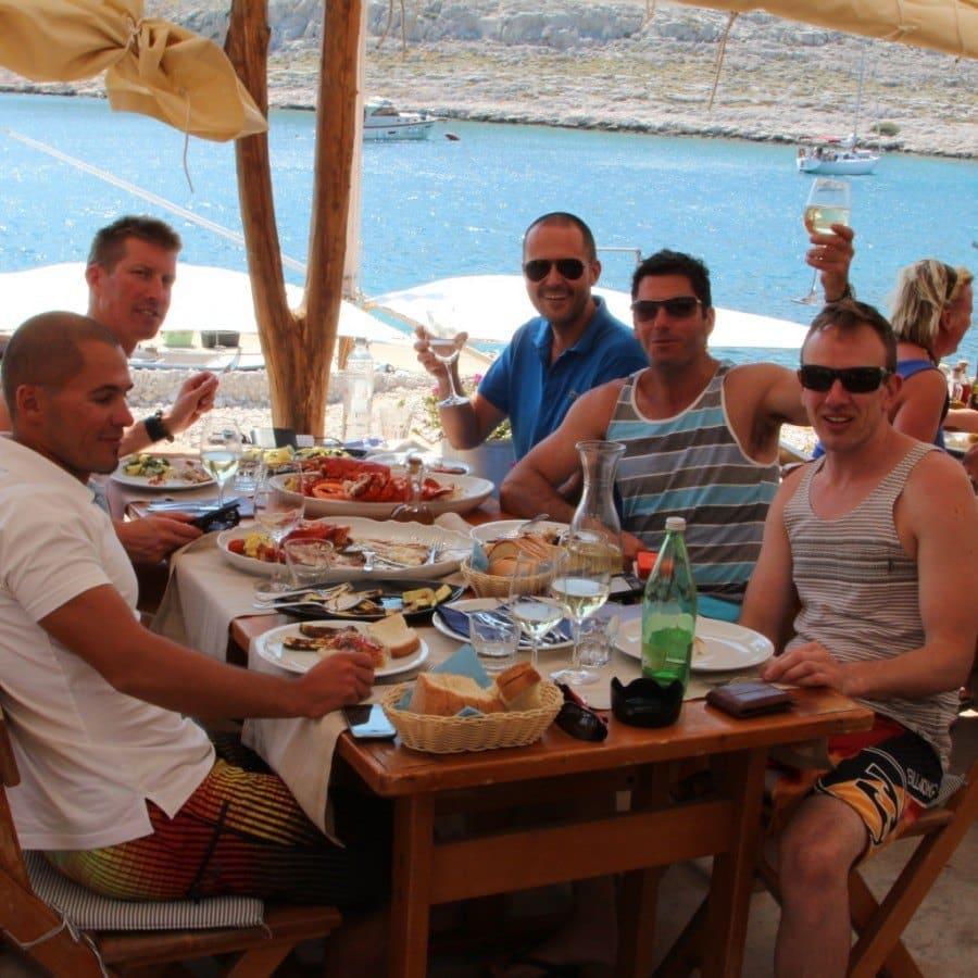 konoba opat australians visitors sailing