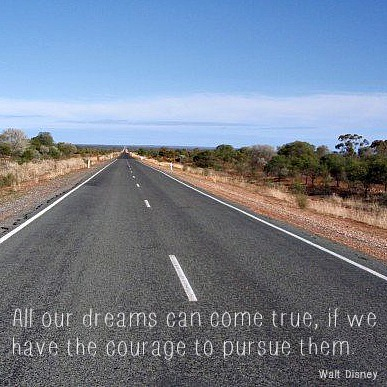 aussie expat dream quote by walt disney