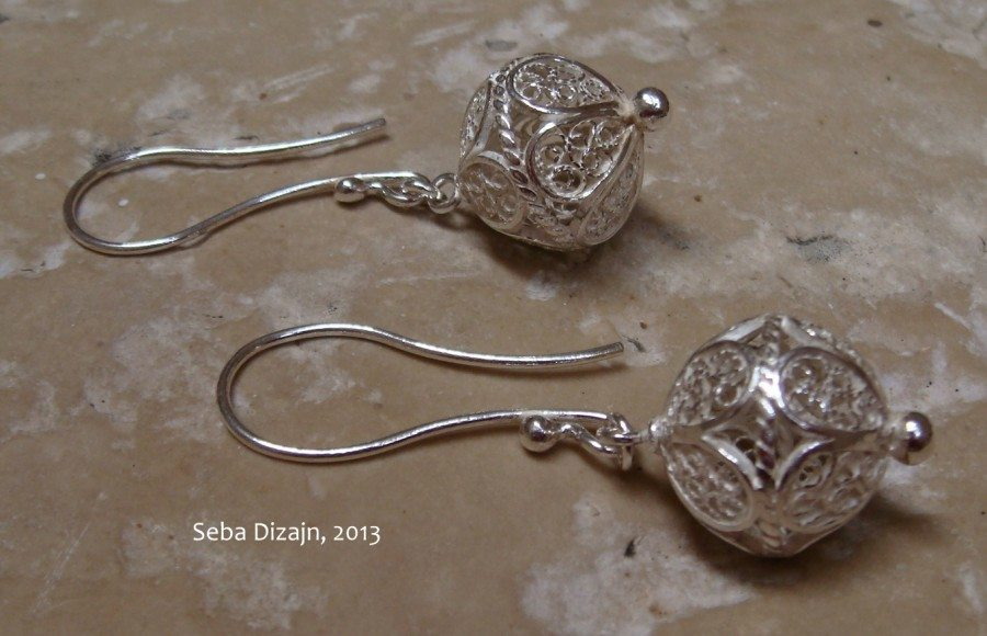 croatian filigree earrings