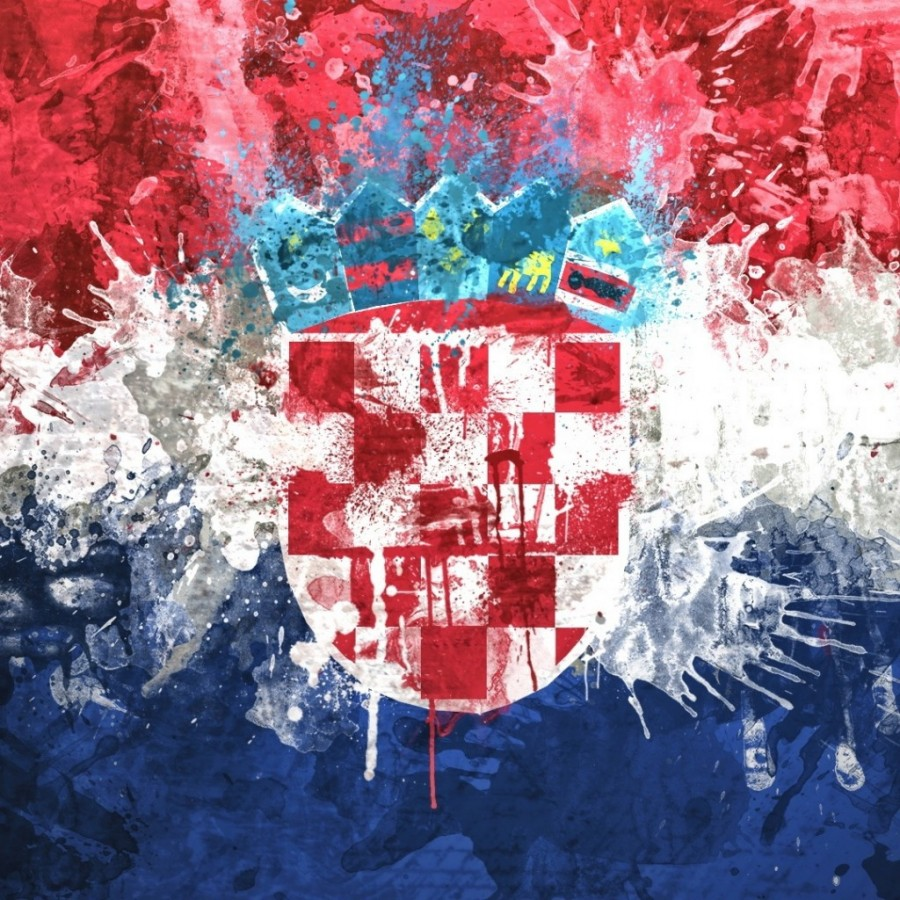 learning croatian flag