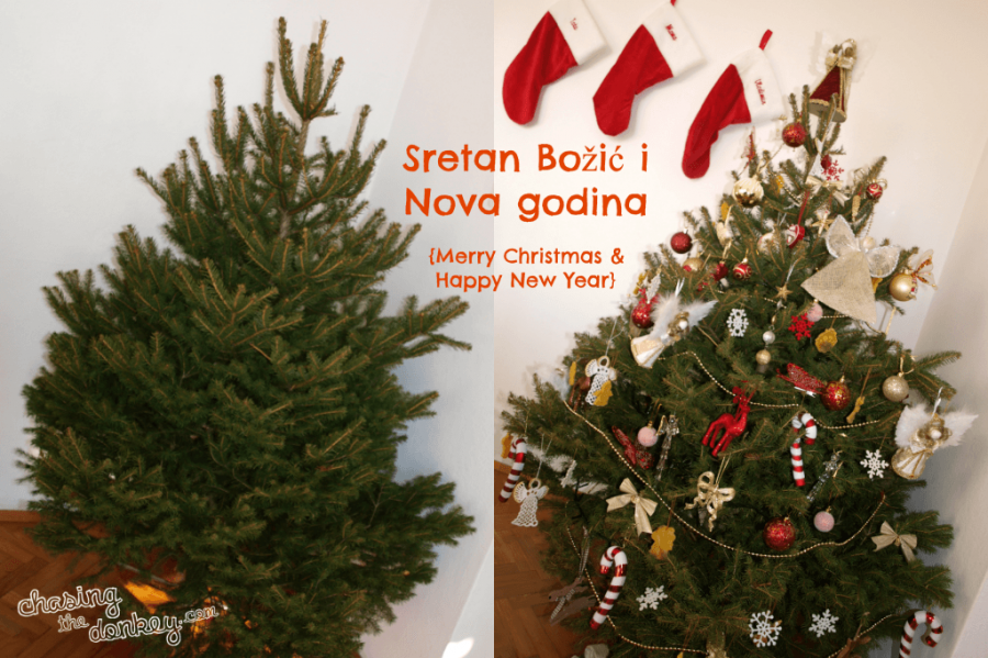 First Croatian Christmas tree
