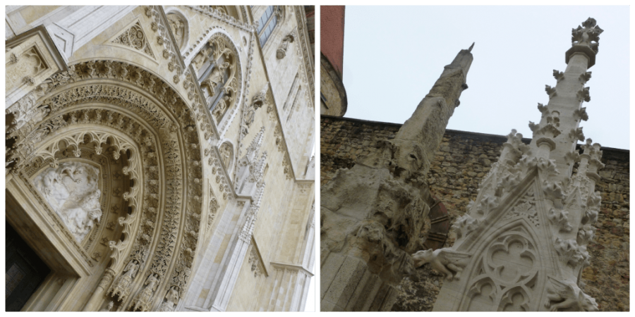 Things to do in Zagreb: Cathedral of #Zagreb - Chasing the Donkey