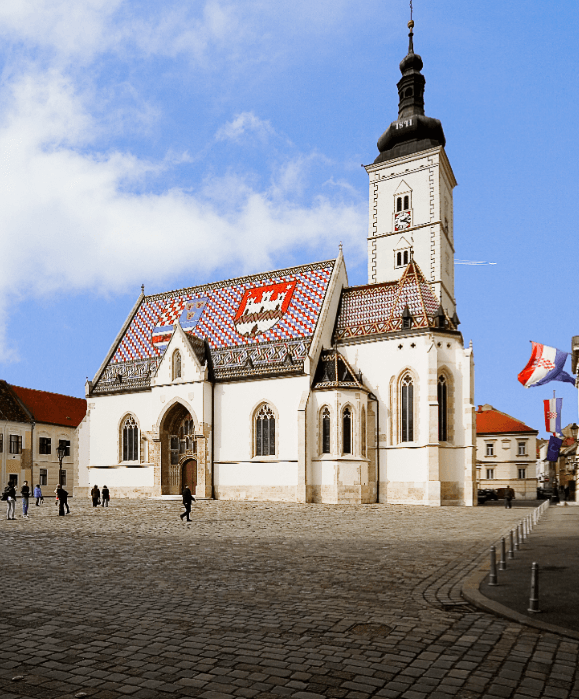 St Marks Zagreb - Chasing the Donkey #Croatia