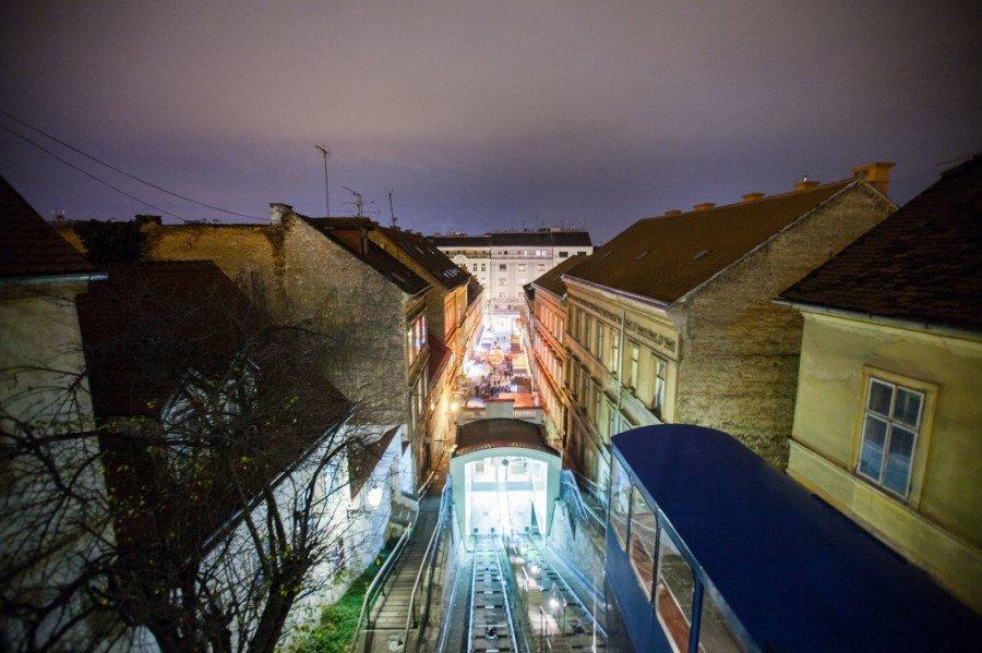 Zagreb Funicular - Chasing the Donkey