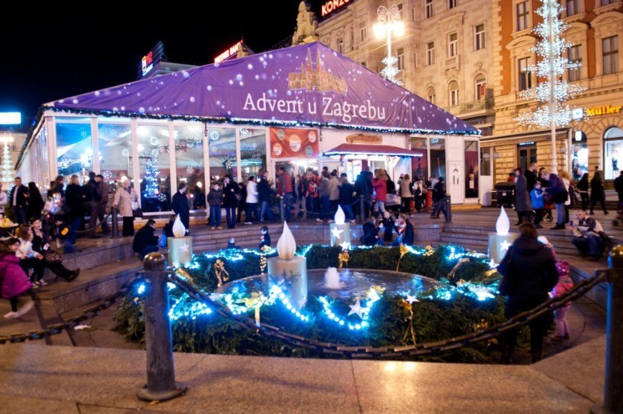 Advent in Zagreb: Advent u Zagreb | Chasing the Donkey Croatia Travel Blog