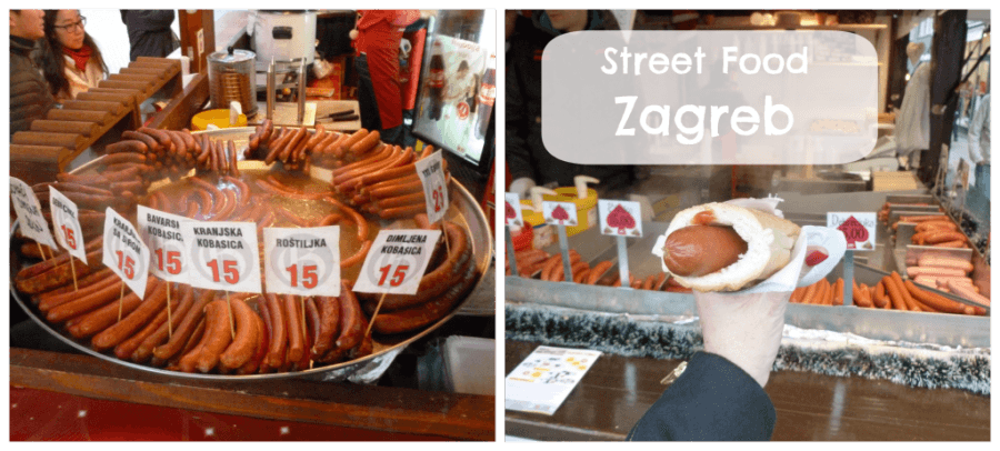 Advent in Zagreb - Street Food I Chasing the Donkey