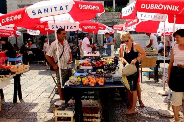 Dubrovnik Markets ashley hubbard