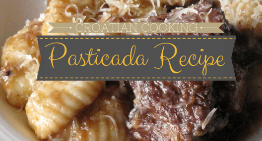 Croatian Cooking: Pasticada Recipe {Beef Stew}