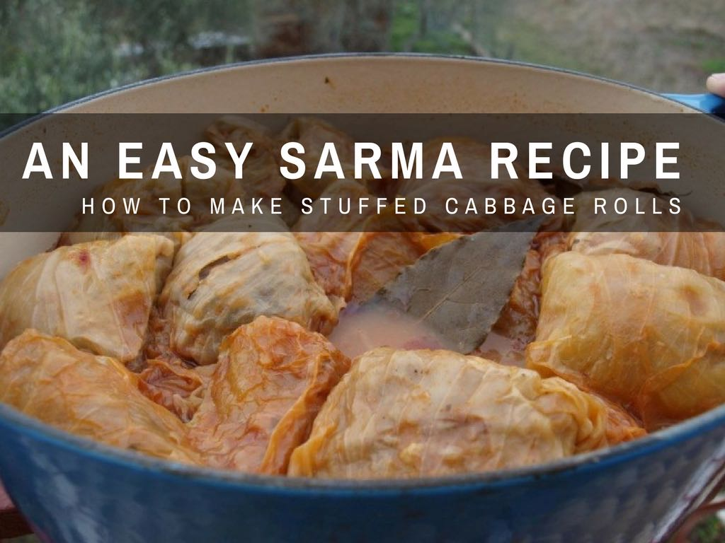 Croatian Cooking_Sarma Recipe