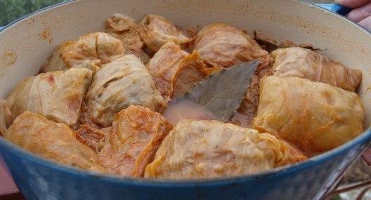 Croatian Cooking: Sarma Recipe {Stuffed Cabbage Rolls}