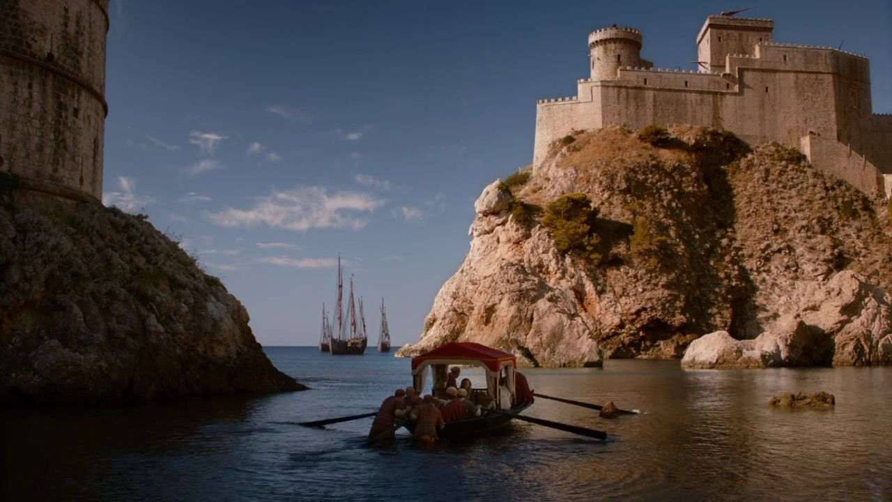 Game Of Thrones Croatia: Locations And Tours - S2 E6 Pile Bay, Dubrovnik - King's Landing Blackwater Bay Game of Thrones Croatia - S2 E6 Fort Lovrijenac, Dubrovnik - King's Landing Red Keep Game of Thrones Croatia