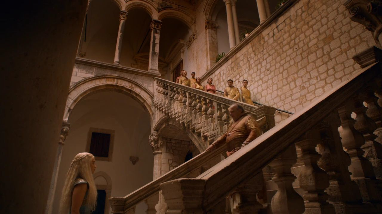 Game Of Thrones Croatia: Locations And Tours - S2 E6 Rector's Palace, Dubrovnik - Game of Thrones Spice King of Qarth Residence