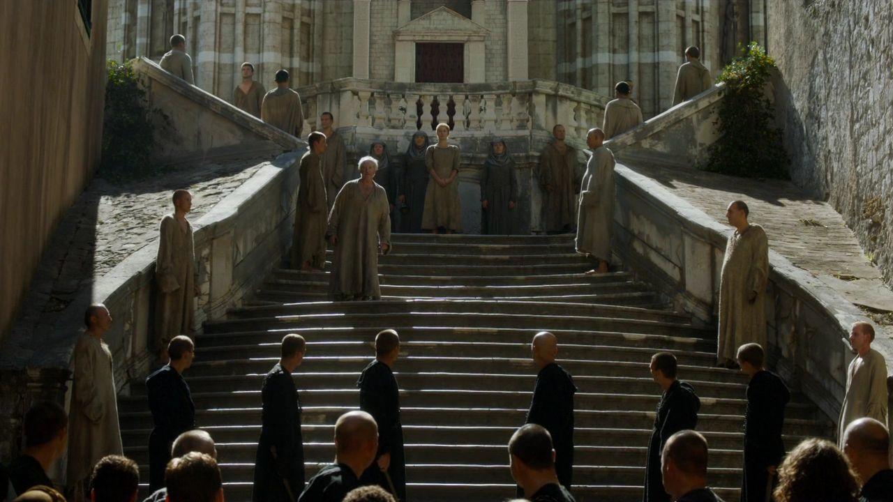 S5 E10 Jesuit Staircase, Dubrovnik, Croatia - Cersei's Walk of Shame