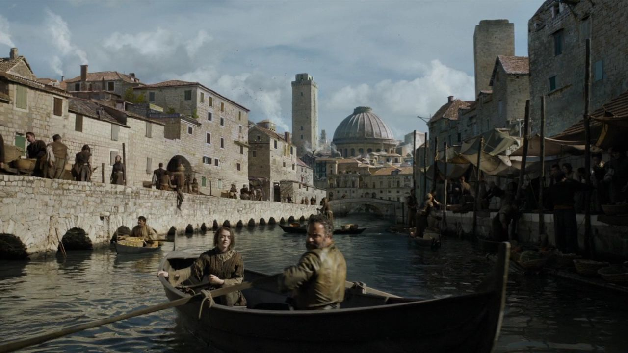 Game Of Thrones Croatia: Locations And Tours - S5 E2 Sibenik Old Town - City of Braavos