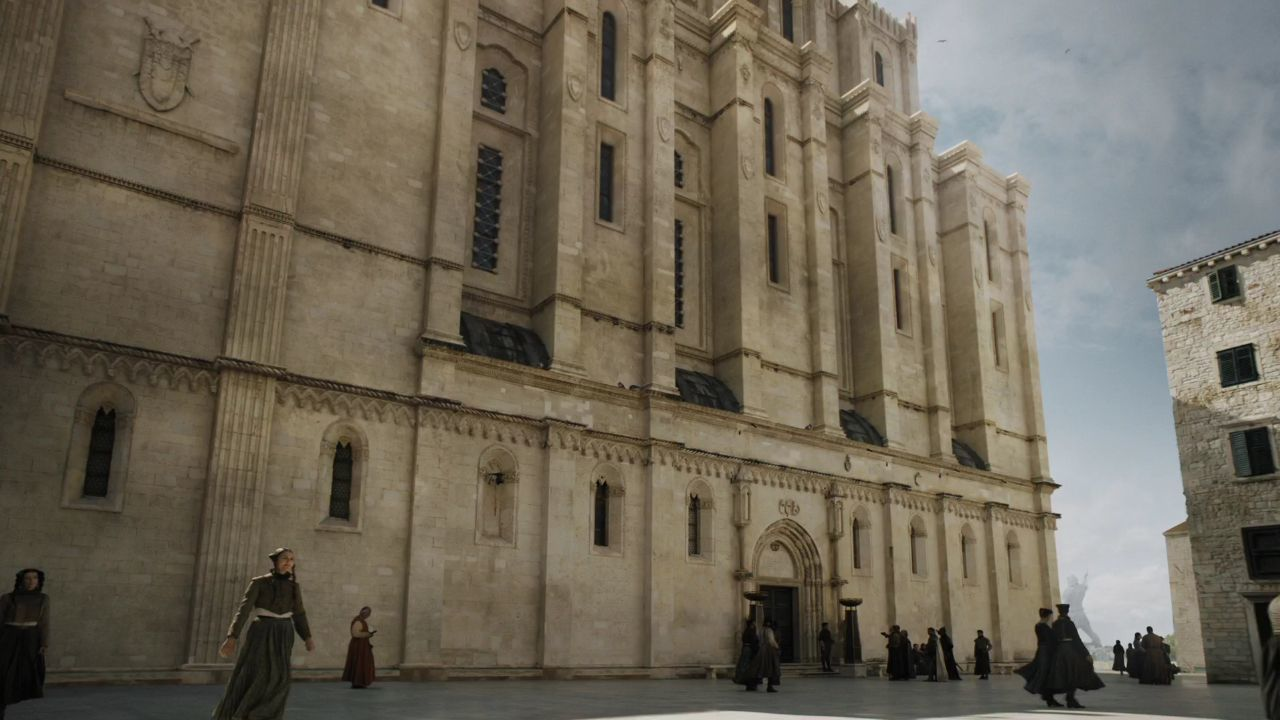 Game Of Thrones Croatia: Locations And Tours - S5 E9 St. James Cathedral - Iron Bank
