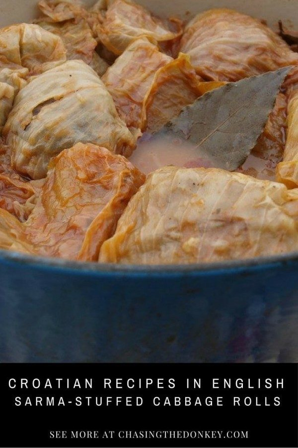 Things to do in Croatia_Stuffed Cabbage Rolls|Croatia Travel Blog