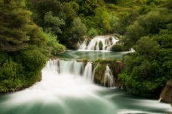 Krka National Park water falls