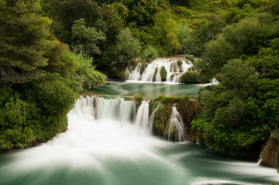 Krka National Park water falls