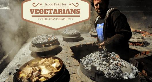 Croatian Recipe: Peka for Vegetarians
