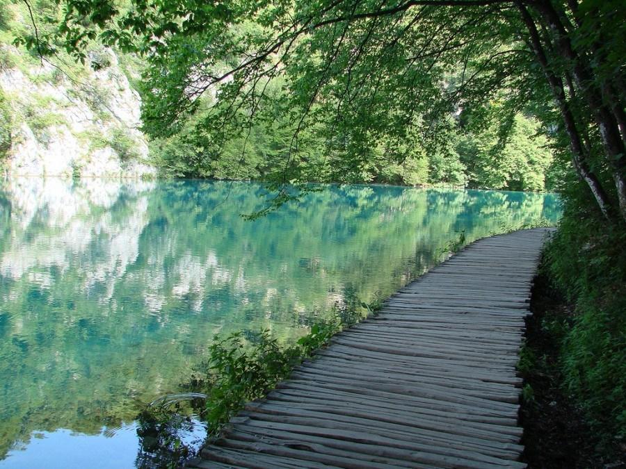 #Croatia #Plitvice Lakes NP -Chasing the Donkey
