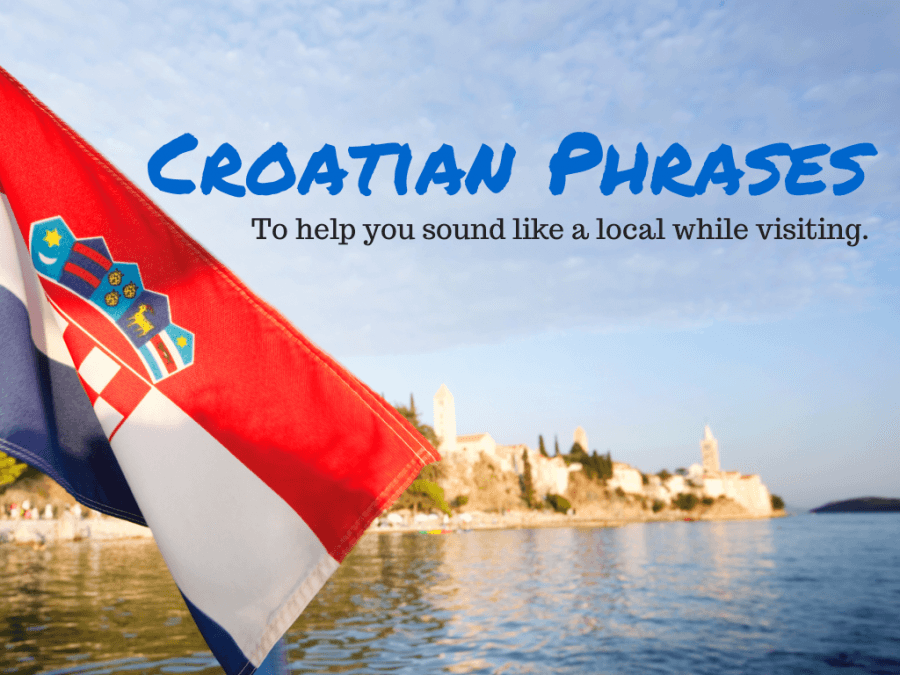 Learn Croatian Phrases - Chasing the Donkey #Croatia