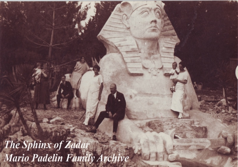 Sphinx | Things to do in Zadar Croatia | Mario Padelin Family Archive