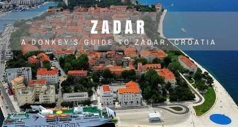 Things to do in Zadar Travel Blog   Chasing the Donkey Croatia