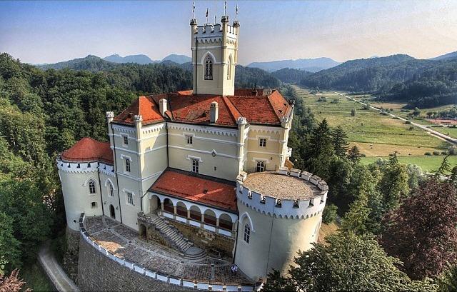 Hrvatsko Zagorje Trakoscan Castle Croatia