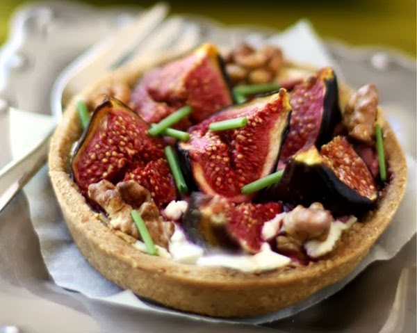 Dalmatian Fresh Fig Tart Recipe - Chasing the Donkey #Croatia