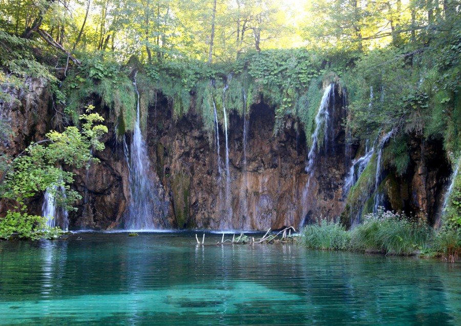 Waterfalls in Croatia - Mali Buk Waterfall