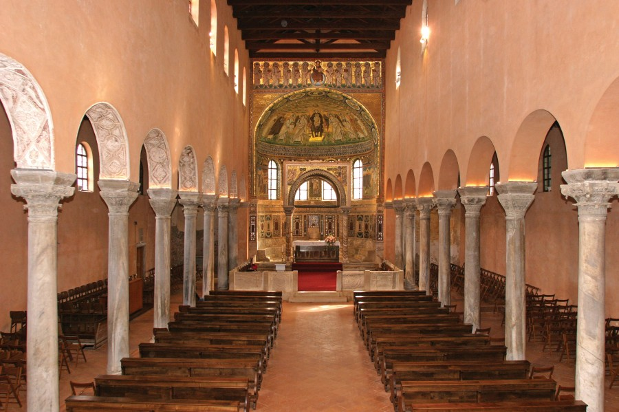 Euphrasian Basilica Porec long - Chasing the Donkey #Croatia