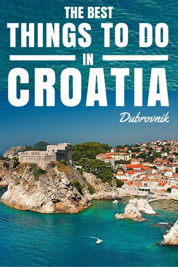 Things to do in Croatia | Dubrovnik Travel Blog