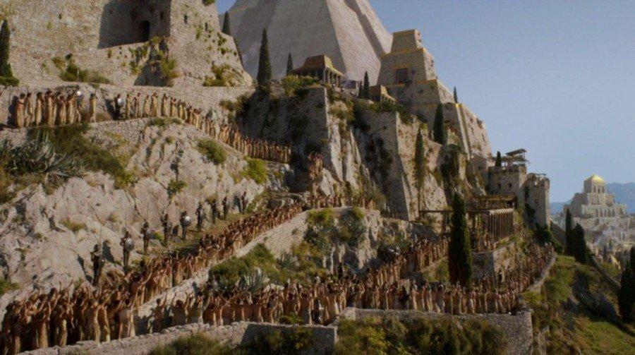 Game of thrones tour Klis-Meereen