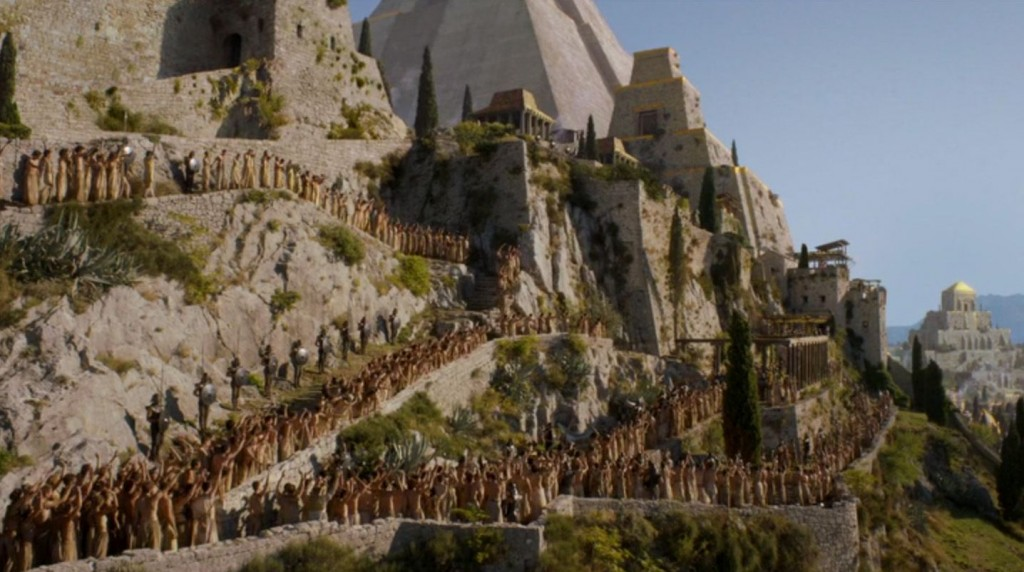 Game of thrones tour Klis-Meereen