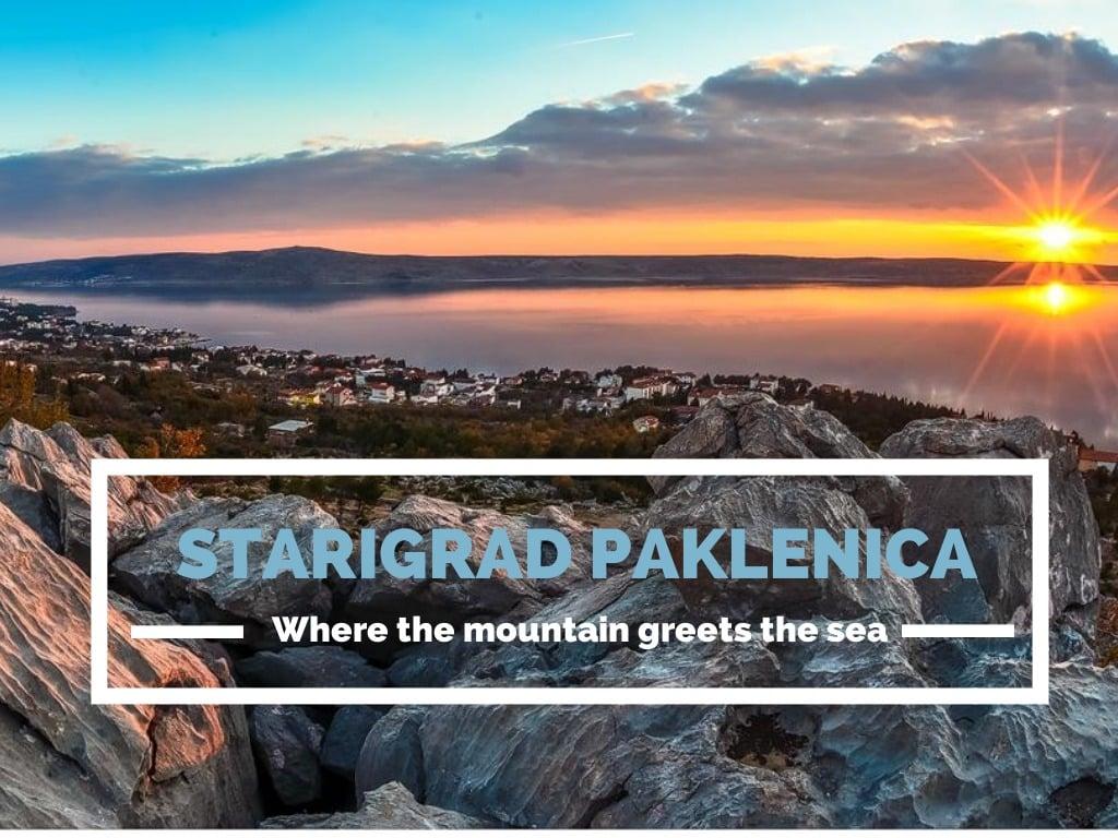 STARIGRAD PAKLENICA CROATIA - CHASING THE DONKEY