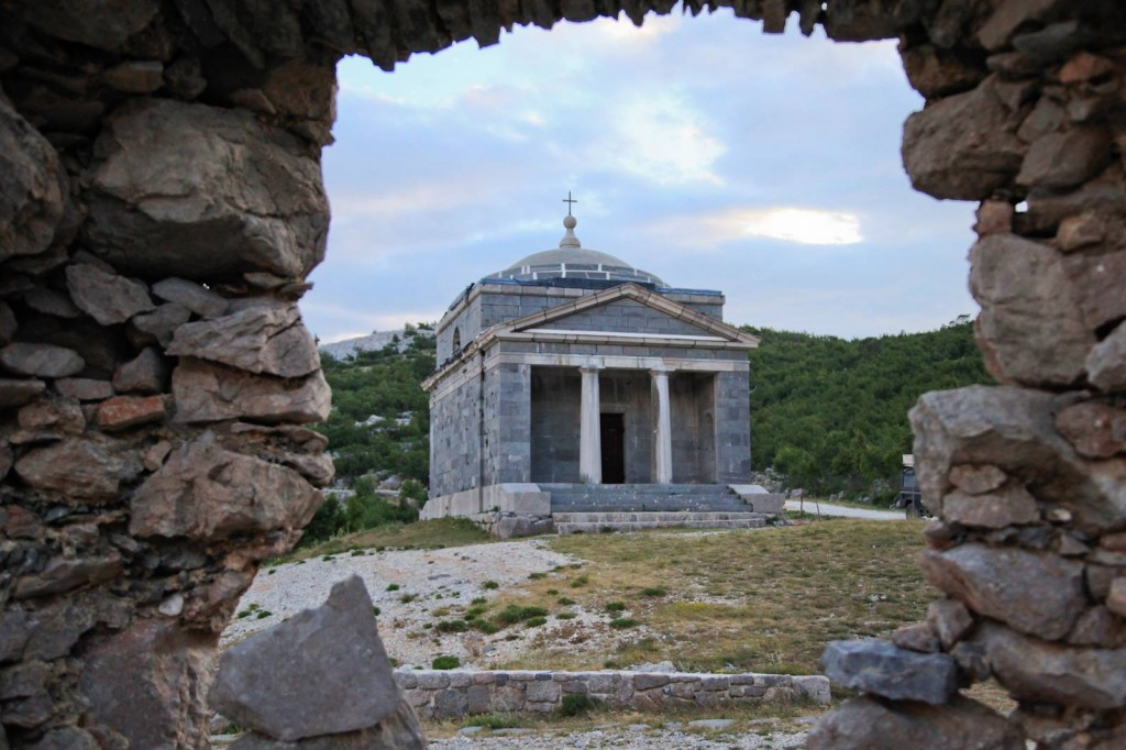 St. Franjo's church paklenica velebit photo jeep safari