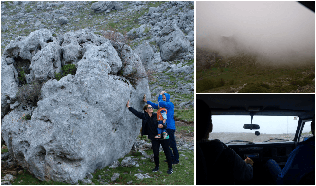 Starigrad Paklenica Velebit photo jeep bad weather - Chasing the Donkey Croatia