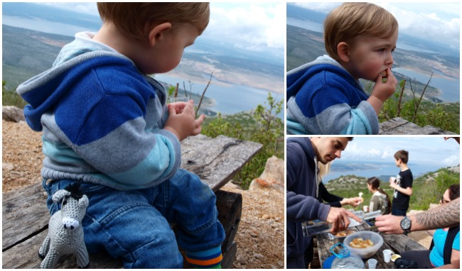 Starigrad Paklenica Velebit photo jeep safari snacks - Chasing the Donkey Croatia
