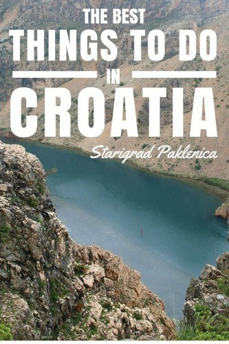 Things to do in Croatia_Starigrad Paklenica