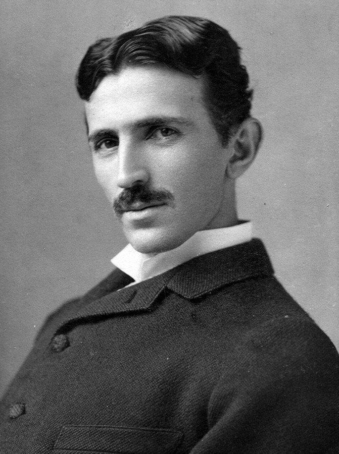 Facts about Croatia Nikola Tesla_circa_1890