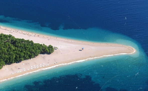 Things to do in Bol #1 - Zlatni Rat Beach - Chasing the Donkey Croatia