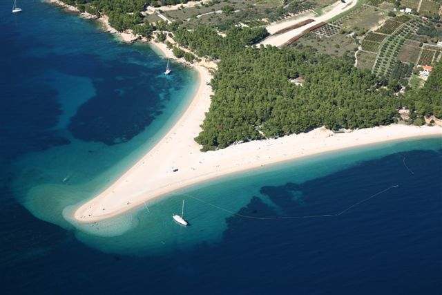 Zlatini Rat Beach Croatia - Chasing the Donkey Croatia