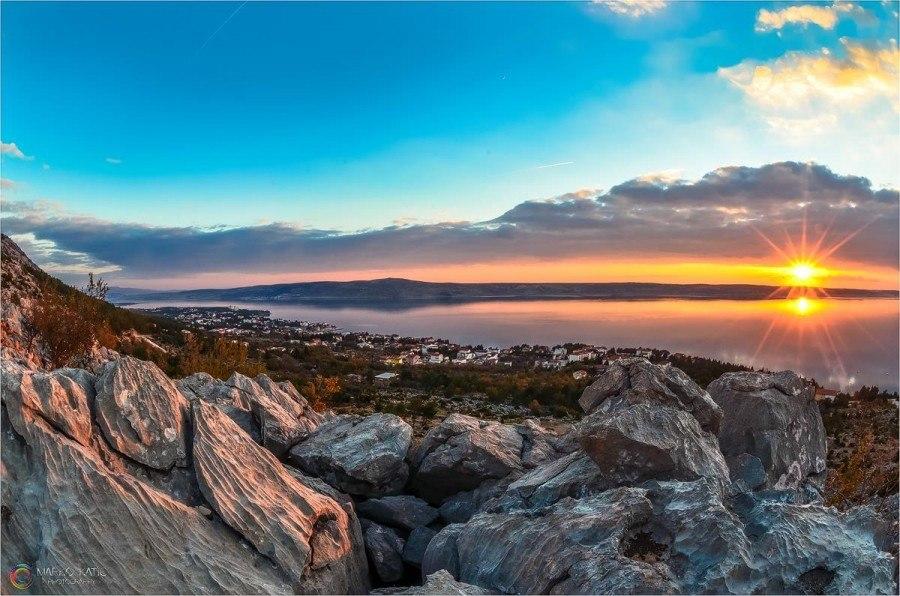 Starigrad Paklenica Sunset - Chasing the Donkey Croatia