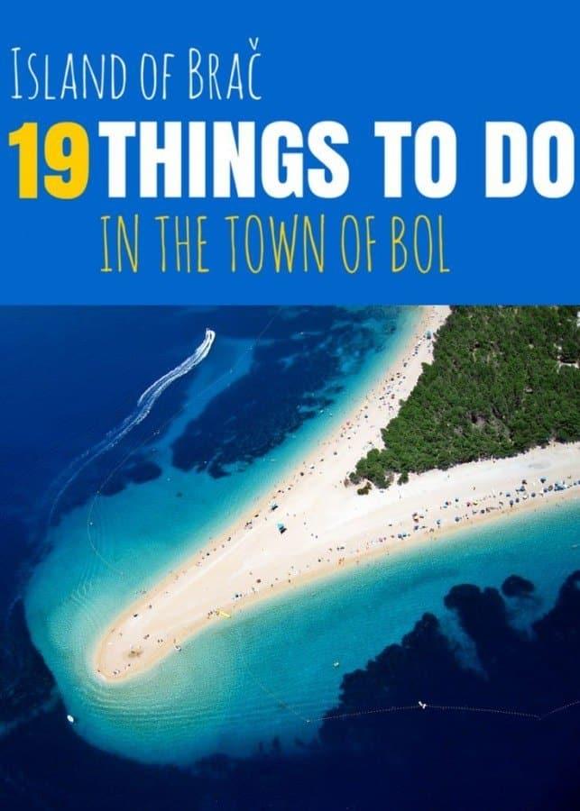 Things to do on Bol | Travel Croatia like a local