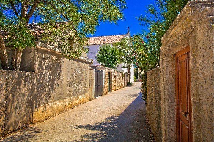 Travel to Croatia - Silba Island alley