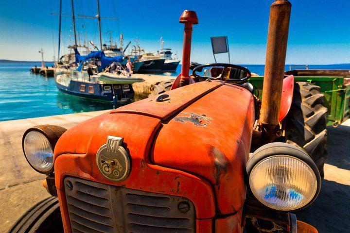 Travel to Croatia -  Silba Island old