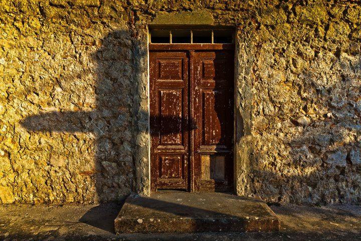 Travel to Croatia - Silba Island door