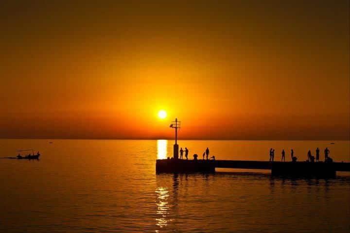 Travel to Croatia - Silba Island night